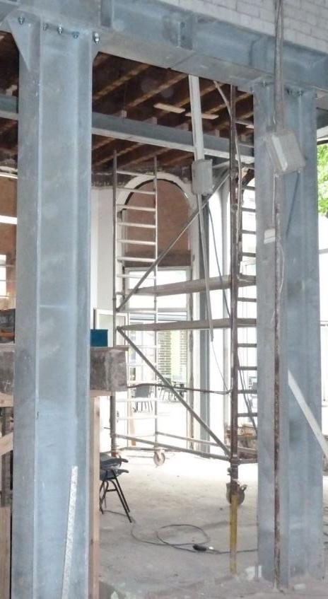 Verbouwing kopblok Tiendplein